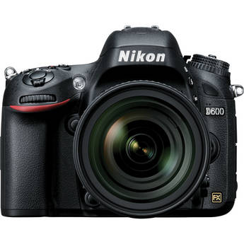 Nikon D600 DSLR Camera with 24-85mm f/3.5-4.5G ED VR Lens