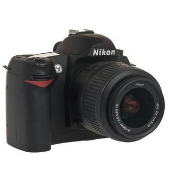 Nikon D70s, 6.1 Megapixel, SLR, Digital Camera Kit with f/3.5-5.6 G-VR DX Lens