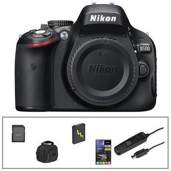 Nikon Nikon D5100 Digital SLR (Body Only) Essential Kit