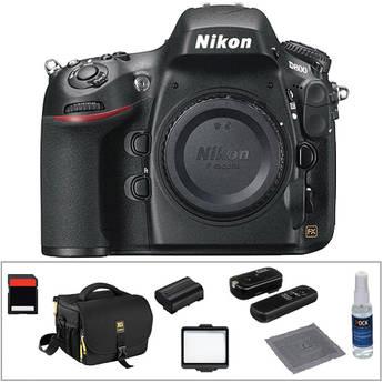 Nikon D800 Digital SLR Camera Body Basic Kit