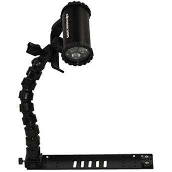 "Nocturnal Lights SLX 800i Video Light Combo with 12"" Flex Arm / Tray"