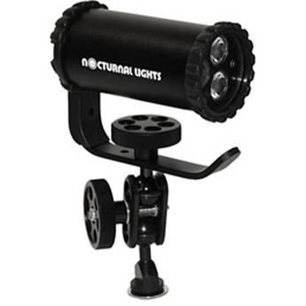 Nocturnal Lights SLX 800i Video Light Combo with Ball Joint/Hot/Cold Shoe Adapter