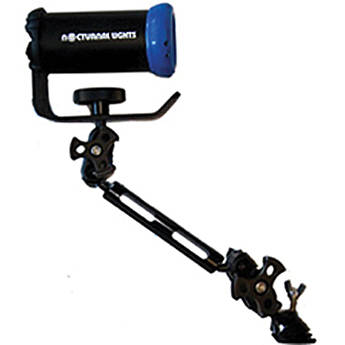 """Nocturnal Lights Aluminum Single Section Ball-Joint Arm Combo (12"""")"""