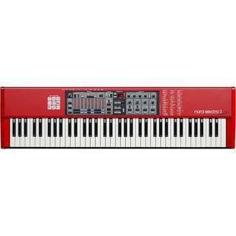 Nord Electro 3 - 73-Key Organ, Piano, and Mellotron Instrument