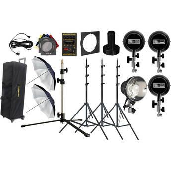 Novatron D1500 4 Head Studio Kit
