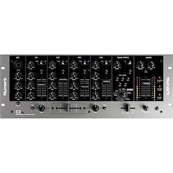 "Numark C3FX 5-Channel 19"" Rack Mountable DJ Mixer with Effects"