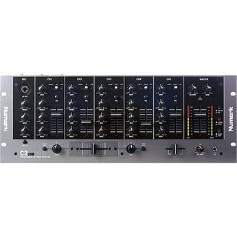 "Numark C3USB 5-Channel 19"" Rack Mountable DJ Mixer with USB Connection"