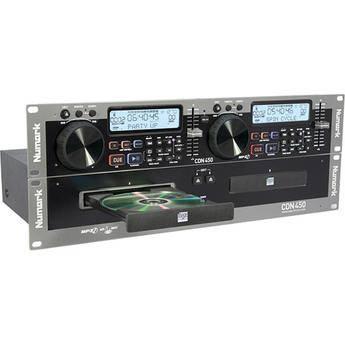 Numark CDN450 - Rack-Mount Professional Dual MP3/CD Player