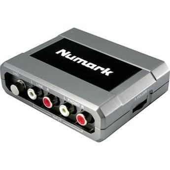 Numark Stereo iO - USB Computer Audio DJ Interface for Mac and PC