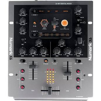 Numark X6 - 2-Channel Digital Scratch Mixer with Effects
