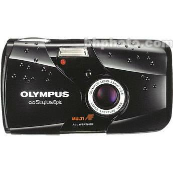 Olympus Stylus Epic Camera (Black)