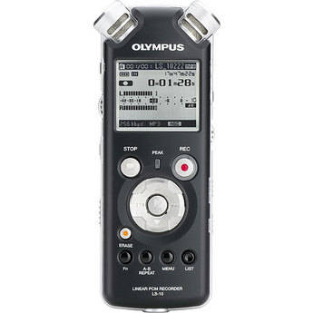 Olympus LS-10 Linear PCM Field Recorder 2GB with SD Slot