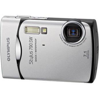 Olympus Stylus 790 SW Digital Camera (Silver)