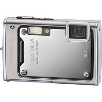 Olympus Stylus 1030SW Digital Camera (Silver)