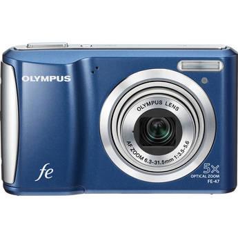 Olympus FE-47 Digital Camera (Blue)