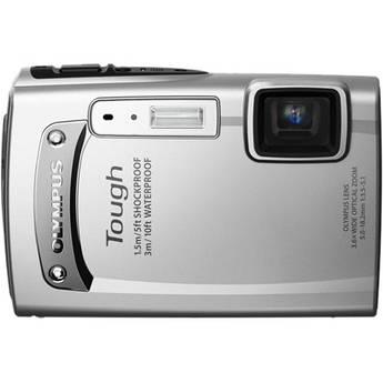 Olympus TG-310 Digital Camera (Silver)