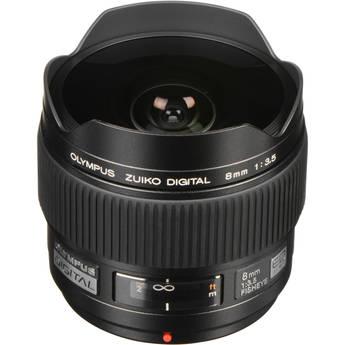 Olympus 8mm f/3.5 Fisheye ED Zuiko Digital Lens