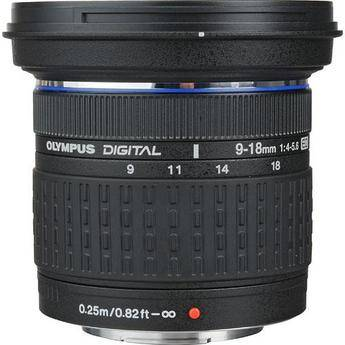 Olympus Zoom Super Wide Angle 9-18mm f/4-5.6 ED Zuiko Zoom Lens for Olympus Digital SLR