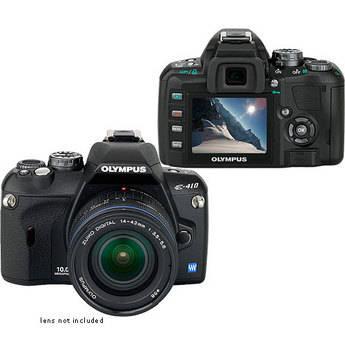 Olympus Evolt E-410 Digital Camera (Camera Body)