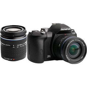 Olympus Evolt E-510 SLR Digital Camera 2-Lens Kit