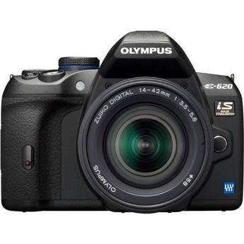 Olympus E-System E-620 SLR Digital Camera Kit with 14-42mm Lens