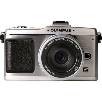 Olympus E-P2 Pen Digital Camera w/ M.Zuiko Digital 17mm f/2.8 Lens (Silver)