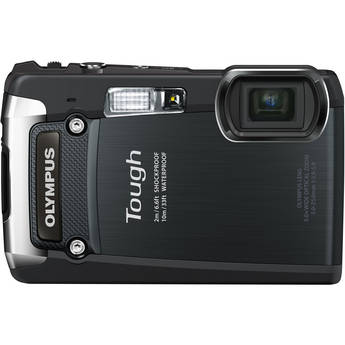 Olympus Tough TG-820 iHS Digital Camera (Black)