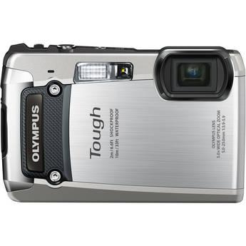 Olympus Tough TG-820 iHS Digital Camera (Silver)