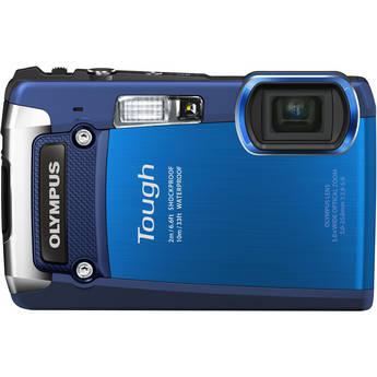 Olympus Tough TG-820 iHS Digital Camera (Blue)