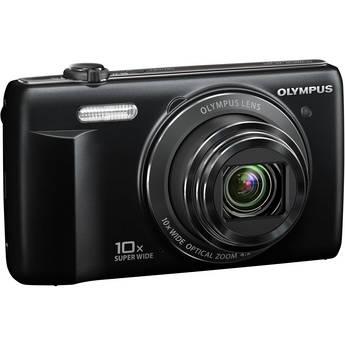 Olympus VR-340 Digital Camera (Black)