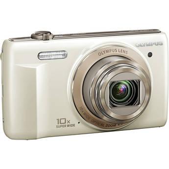 Olympus VR-340 Digital Camera (White)