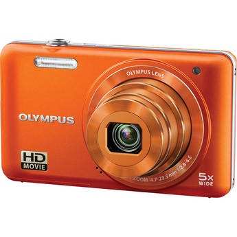 Olympus VG-160 Digital Camera (Orange)