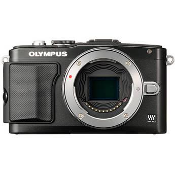 Olympus E-PL5 Mirrorless Micro Four Thirds Digital Camera Body (Black)
