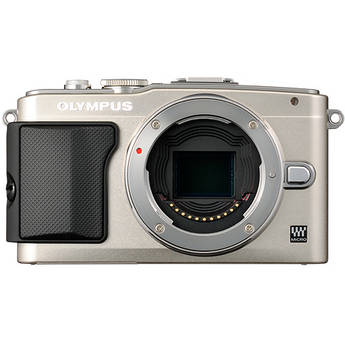 Olympus E-PL5 Mirrorless Micro Four Thirds Digital Camera Body (Silver)