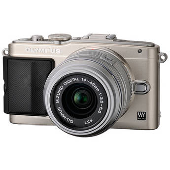 Olympus E-PL5 Mirrorless Micro Four Thirds Digital Camera with 14-42mm f/3.5-5.6 II R Lens (Silver)
