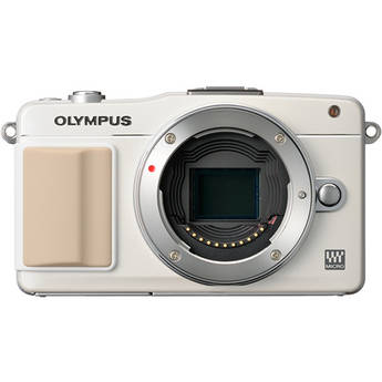 Olympus E-PM2 Mirrorless Micro Four Thirds Digital Camera Body (White)