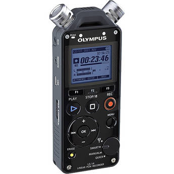 Olympus LS-14 Linear PCM Recorder (Black)