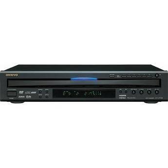 Onkyo DV-CP706B 6-Disc Carousel DVD Player (Black)