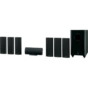 Onkyo SKS-HT750 7.1-Channel Home Theater Speaker System