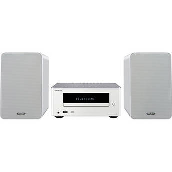 Onkyo CS-355 CD Hi-Fi Mini System with Bluetooth (White)