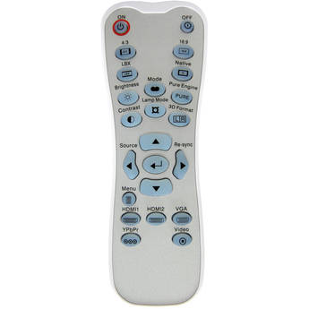 Optoma Technology BR-3060B Remote Control w/ Backlight