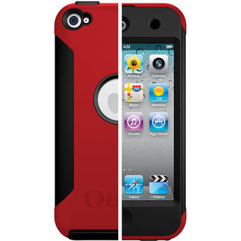 Otter Box 4G iPod touch Commuter Series Case (Red/Black)