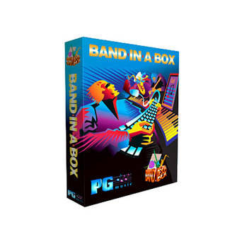 PG Music Band-In-A-Box 12 Pro - Educational Institution Single License (Mac)