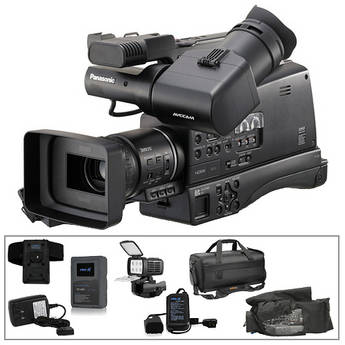 Panasonic AG-HMC80 AVCCAM HD Camcorder Switronix Power & Light Kit