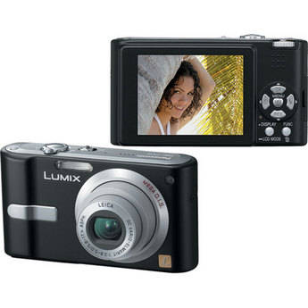 Panasonic Lumix DMC-FX12 Digital Camera (Black)