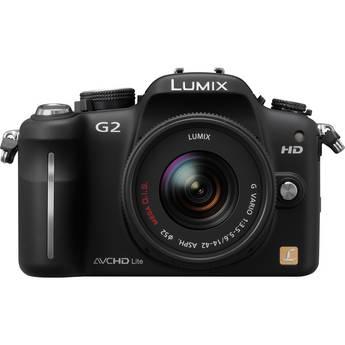 Panasonic Lumix DMC-G2 Interchangeable Lens System Digital Camera (Black)