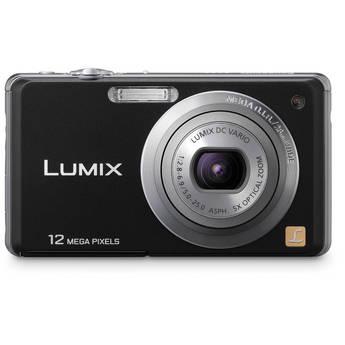 Panasonic LUMIX DMC-FH1 Digital Camera (Black)