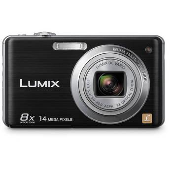 Panasonic LUMIX DMC-FH20 Digital Camera (Black)