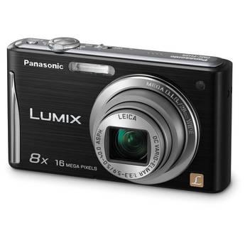 Panasonic Lumix DMC-FH25 Digital Camera (Black)