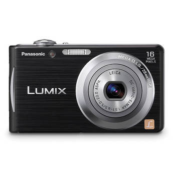 Panasonic Lumix DMC-FH5 Digital Camera (Black)